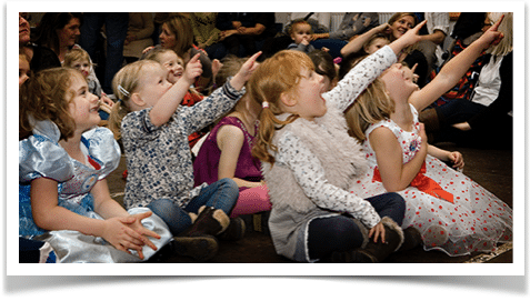 children's entertainer for 4 to 6 year olds