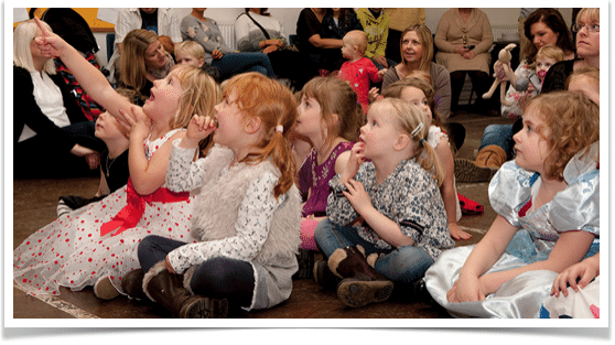 children entertainers in Knutsford